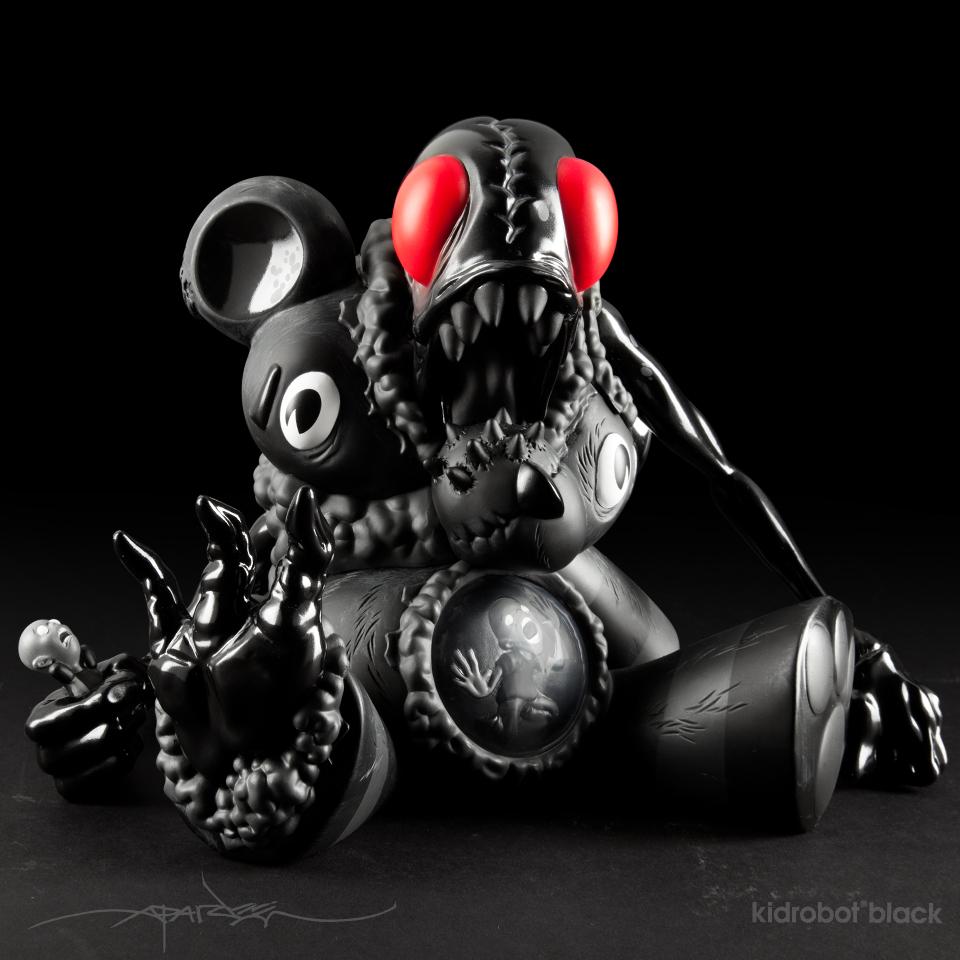 Kidrobot Black Behind The Vinyl With Alex Pardee