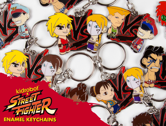 Product Preview  Street Fighter 2 Packs and Keychains – Kidrobot