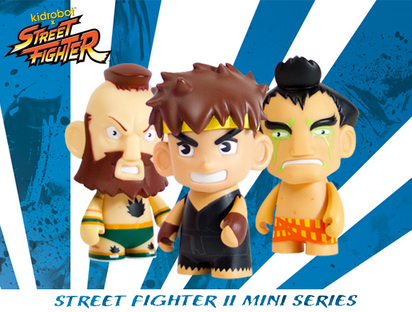Product Preview  Street Fighter 2 Mini Series! - Kidrobot
