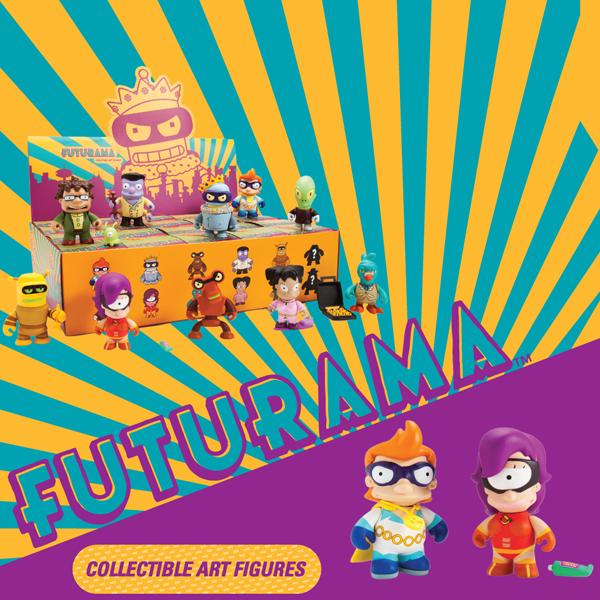 Product Preview Futurama Series 2 Kidrobot Blog