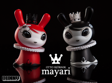 Product Preview: Otto Bjornik 3inch Mayari Dunny.