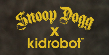 Press Release: Entertainment Icon Snoop Dogg Collaborates with Premier Vinyl Toy Creator, Kidrobot