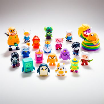 KIDROBOT'S SDCC EXCLUSIVES BASED ON CARTOON NETWORK'S: ADVENTURE TIME