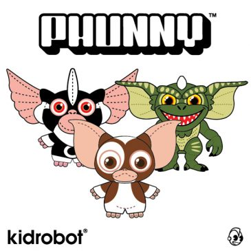Kidrobot Introduces New PHUNNY Plush Line with Gremlins Characters
