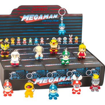 KIDROBOT AND CAPCOM TO RELEASE FULL MEGA MAN CAPSULE