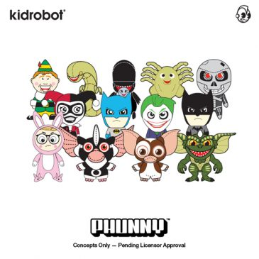 Kidrobot Introduces Additional Characters to Phunny