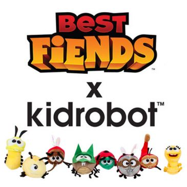 Release: Kidrobot x WuzOne's No Strings On Me and Best Fiends Plush‏