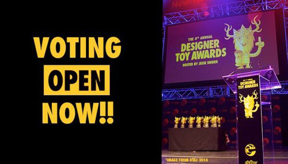 Kidrobot nominated for Designer Toy Awards!