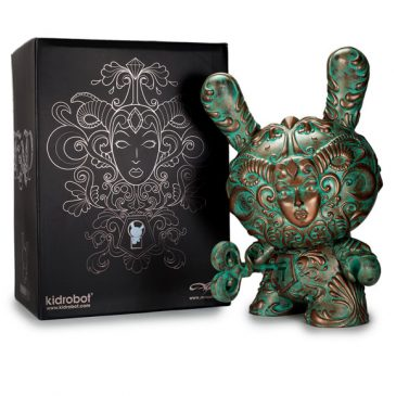 "Kidrobot Exclusive Patina ""It's a F.A.D."" Dunny by J*RYU Available Now!!"