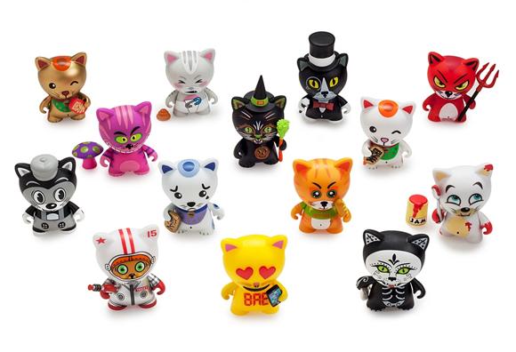 Tricky Cats by Kidrobot