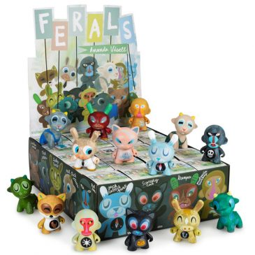 "Kidrobot x Amanda Visell's ""Ferals"" Mini Series Now Available!"