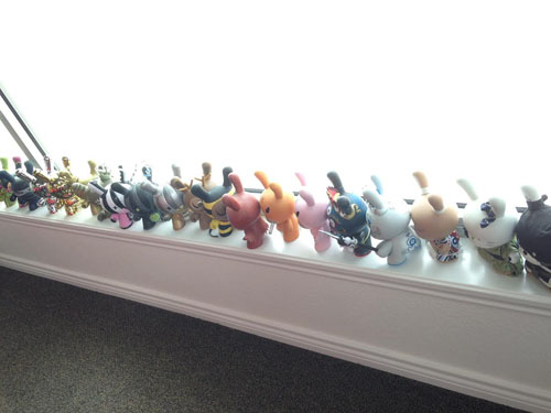 8 inch Dunnys on display.