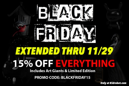 Black Friday deals extended thru 11-29