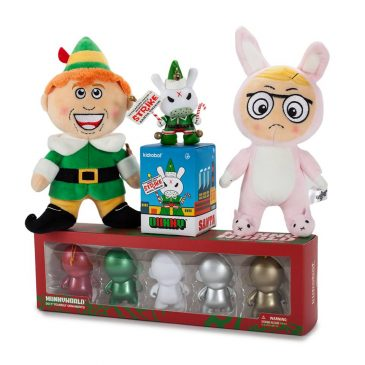 Kozik Grumpy Elf and MUNNY Ornaments Now Available!