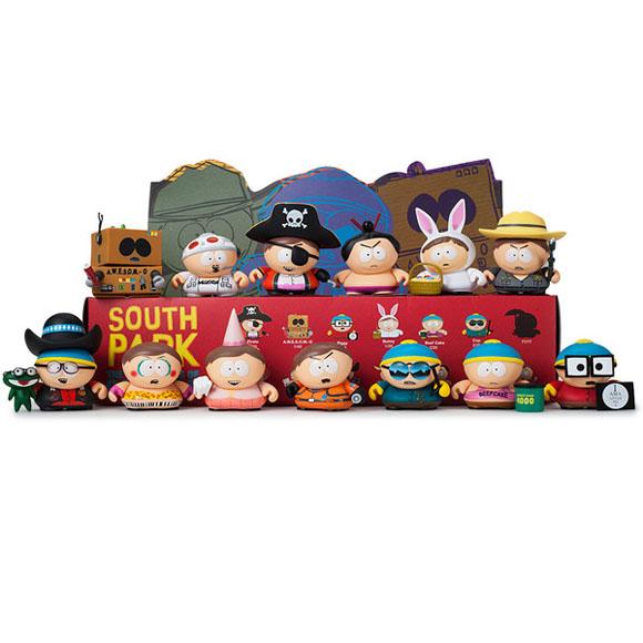 Cop Kidrobot South Park Many Faces of Cartman 3 inch Vinyl Figure New