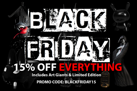Black Friday 15% off Promo Code