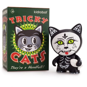 Now Available: TRICKY CATS BLIND BOX 3″ MINI SERIES
