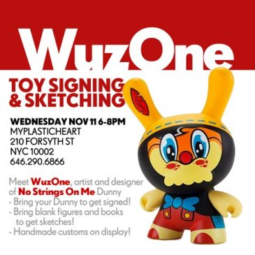WuzOne Signing at MyPlasticHeart