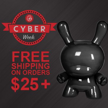 Cyber Week = Free Shipping on US Orders Over $25!