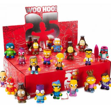 The Simpsons 25th Anniversary Mini Series Now Available at Kidrobot.com