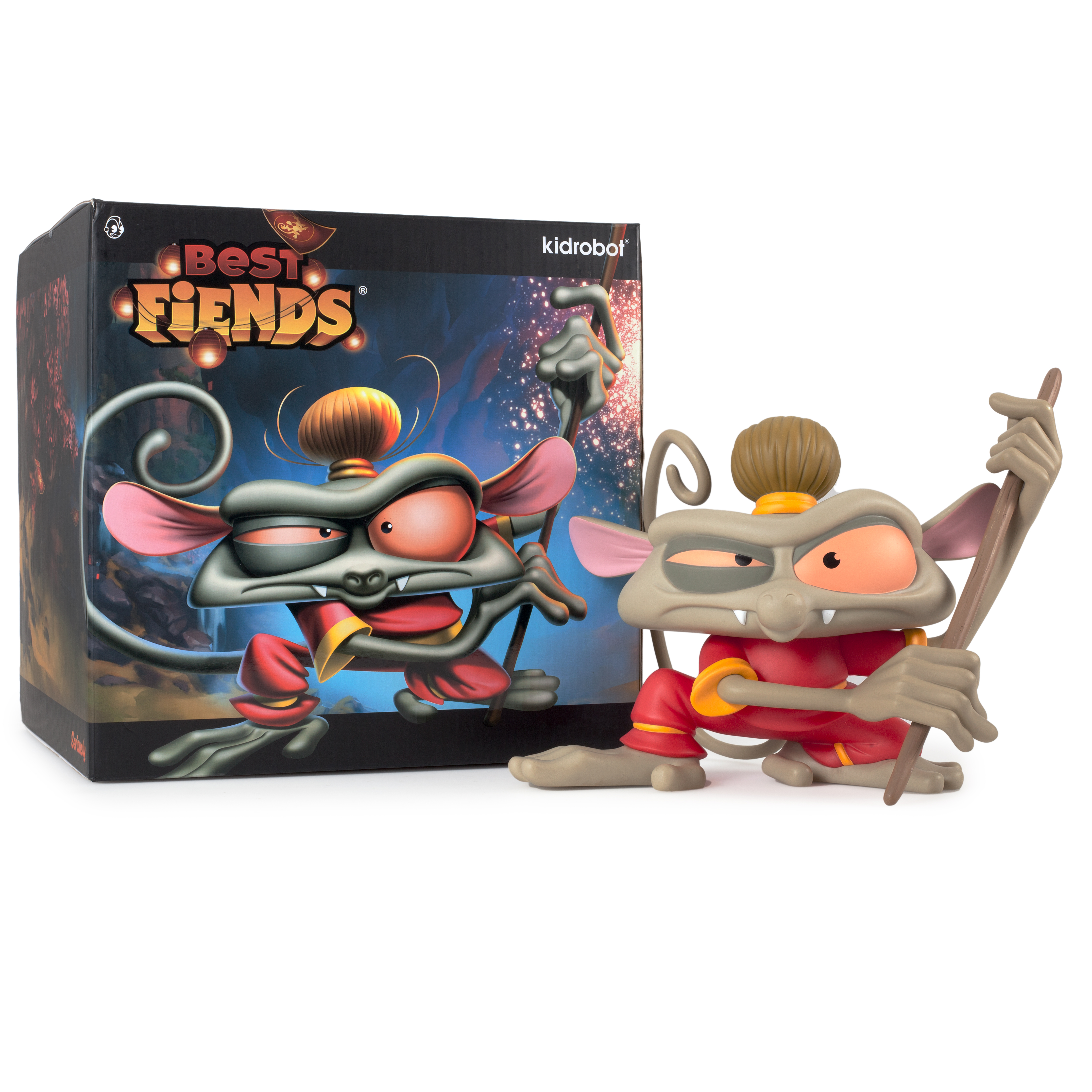 Kidrobot And Seriously To Release New Best Fiends Figure