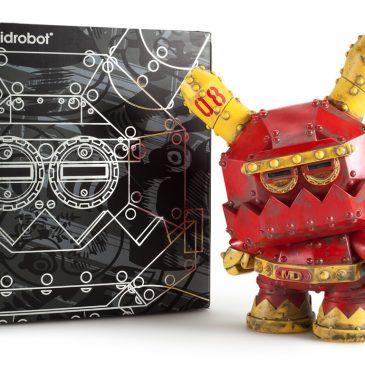 Frank Kozik x Kidrobot Mecha Dunny Now Available!