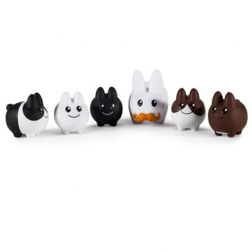 Vinyl 1.5″ Labbit With Littons 6-Pack Available Today