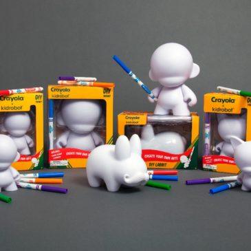 Crayola x Kidrobot DIY Capsule Release