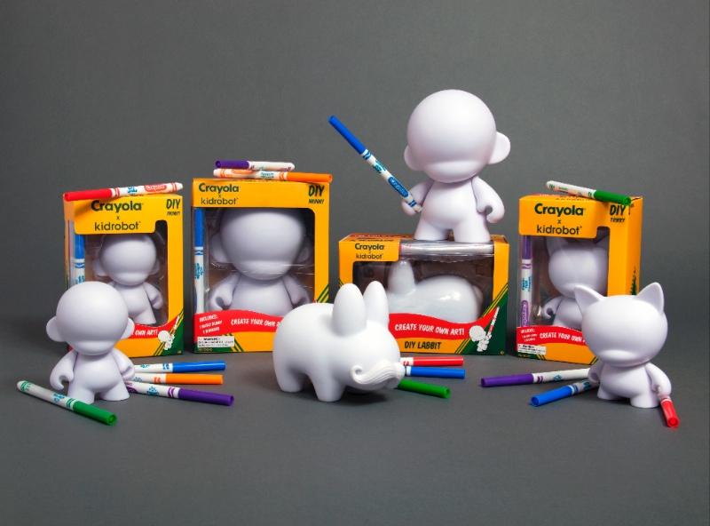 Crayola X Kidrobot Diy Capsule Release Kidrobot Blog