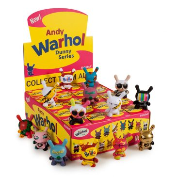 Andy Warhol x Kidrobot Dunny Series Release