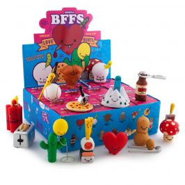 New from Kidrobot & Travis Cain: BFFS Series 3 Love Hurts