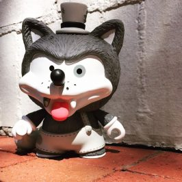 Guest Blog: Willy the Wolf by The Toy Viking