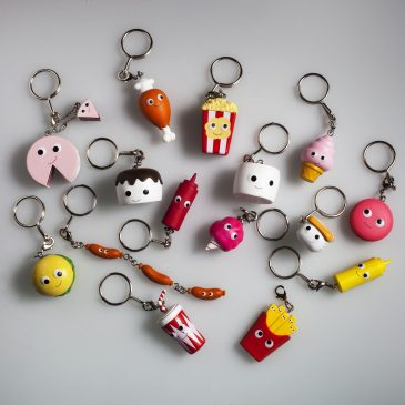 Yummy World Red Carpet Keychains Available Now!