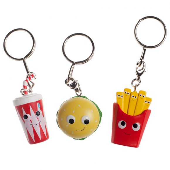 Yummy World Red Carpet Keychains