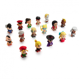 Kidrobot x Street Fighter Release New Figures!