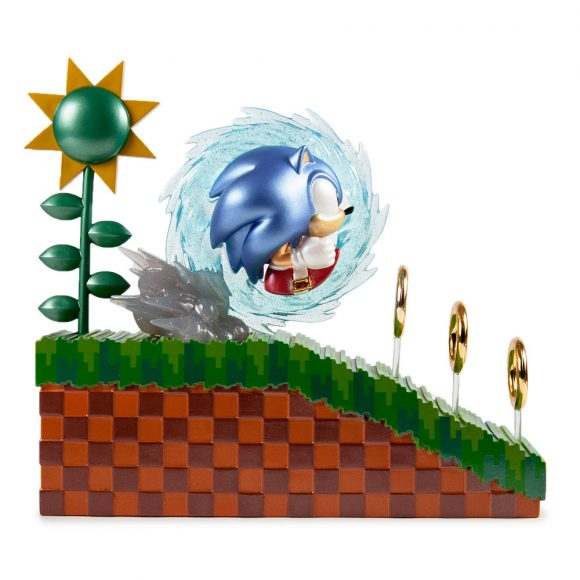Sonic Metallic Figure