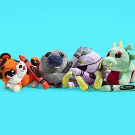 New Crayola x Kidrobot Plush Stuffed Animals Available now!