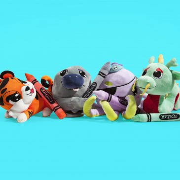 New Crayola x Kidrobot Plush Stuffed Animals Available now!