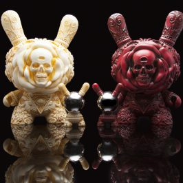 Inside Scoop of the NEW 8-Inch Clairvoyant Dunny by J*RYU