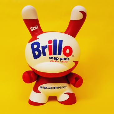 Andy Warhol 8-inch Masterpiece Brillo Dunny Available Now!