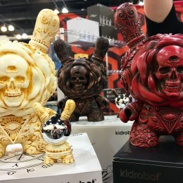 J*RYU x Kidrobot Clairvoyant Dunny Giveaway at Designer Con 2016