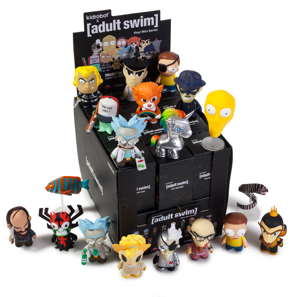 Kidrobot x Adult Swim Vinyl Art Mini Series