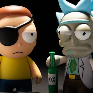 Kidrobot x Adult Swim: Rick and Morty!