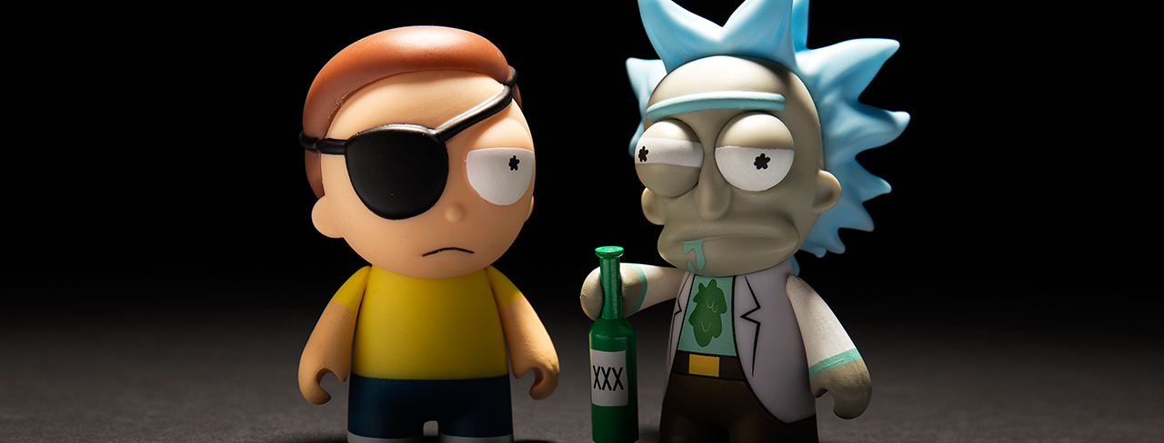 Adult Swim Mini Series Featuring Rick and Morty