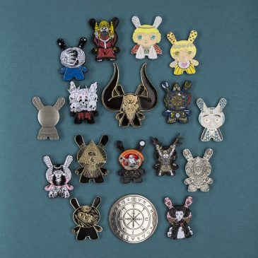 Arcane Divination Pins Available on Kidrobot.com