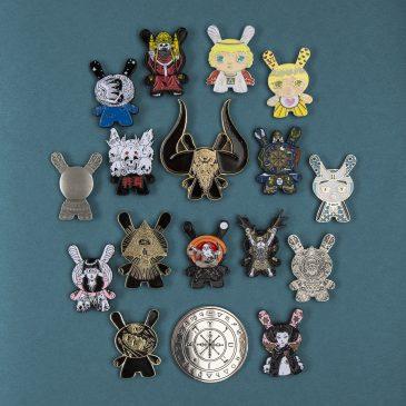 Arcane Divination Pins Available on Kidrobot.com