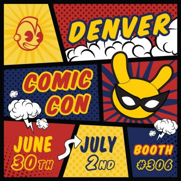 "Kidrobot is going to Denver Comic Con! Come Say ""Hey!"""