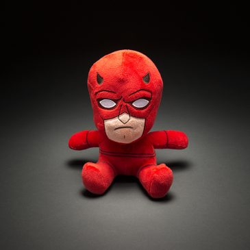 Kidrobot's new Daredevil & Punisher Phunny Plush Available Online Now!