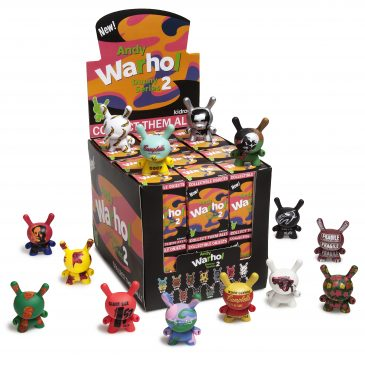 Warhol Dunny Mini Series 2 and Warhol Masterpiece Release!