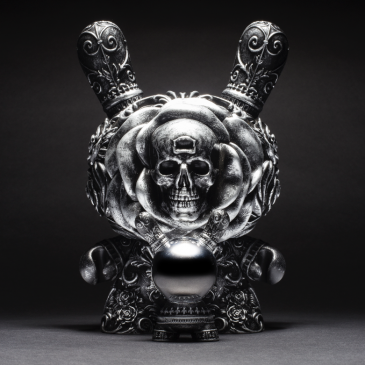 The Arcane Divination Clairvoyant 8-Inch Dunny Now Available on Kidrobot.com